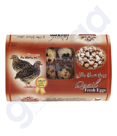 Asak Fresh Quail Egg  Product Of Qatar