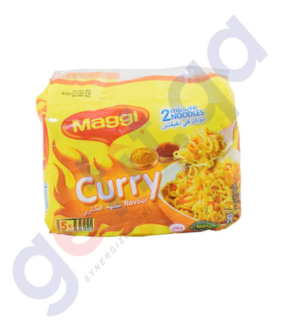 Buy Maggi Noodles Curry Flavour Pack of 5 Online in Doha Qatar