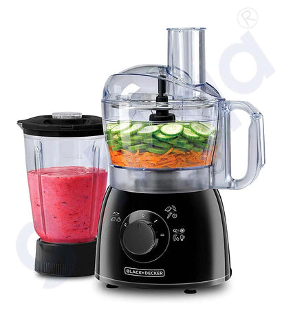 Buy Black & Decker 400w Food Processor FX400B-B5 Doha Qatar