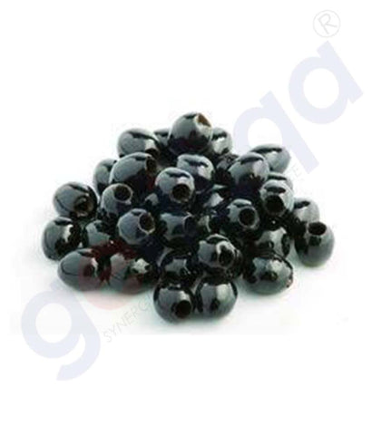 Buy Olive Whole Black Hutesa 1kg Price Online in Doha Qatar
