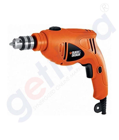 Buy Black & Decker 480w 10mm Hammer Drill Sing Doha Qatar