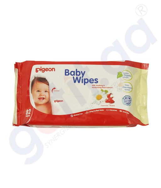 PIGEON BABY WIPES 82S/REF 10583