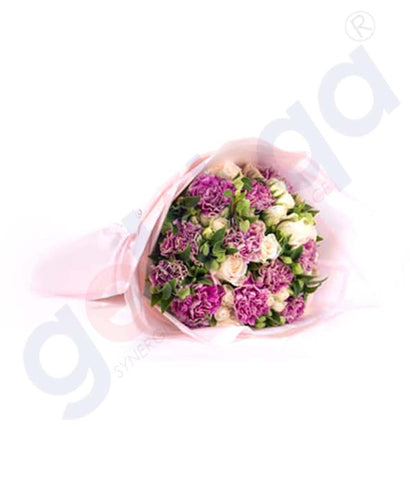 Buy Premiere En Antique Hand Bouquet Online in Doha Qatar