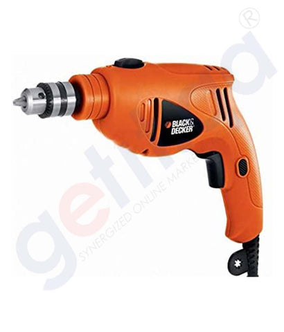 Buy Black & Decker 10mm 500w Hammer Drill Online Doha Qatar