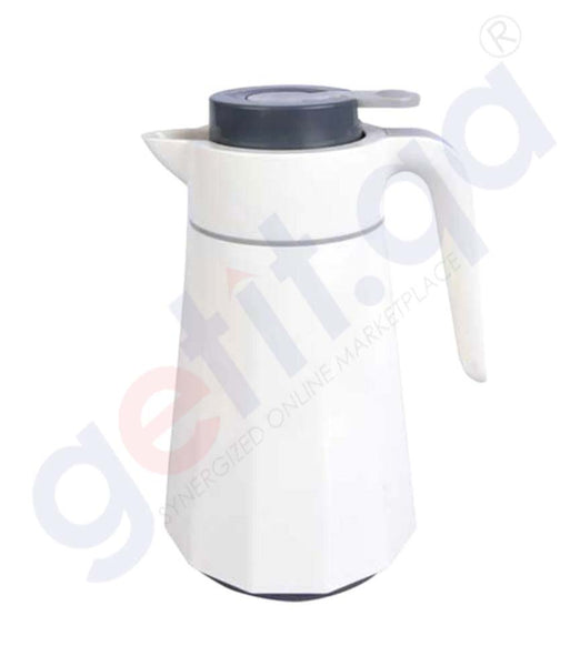 Buy Enjoy Vacuum Jug Liberty 1-Ltr White Price Online Doha Qatar