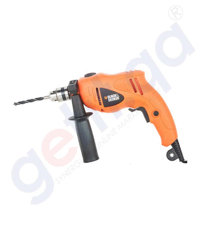 Buy Black & Decker Hammer Drill+ 5 Accessories Doha Qatar