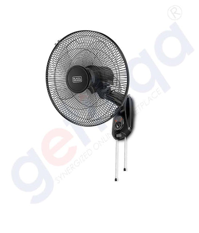 Buy Black & Decker 16-Inch Wall Fan FW1620-B5 in Doha Qatar