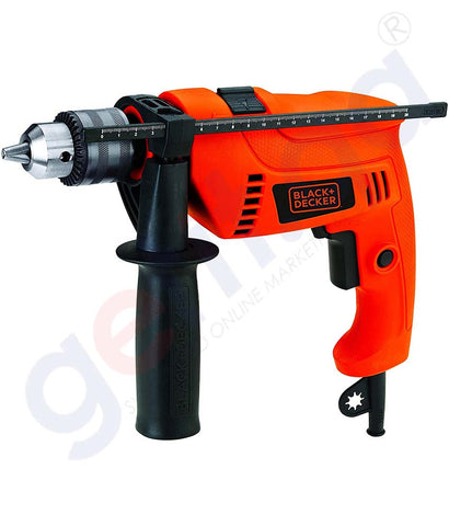 Buy Black & Decker 650w 13mm Hammer Drill Online Doha Qatar