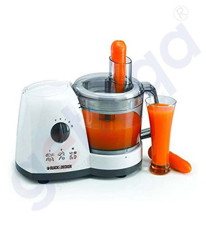 Buy Black & Decker 700w Food Processor W/Grinder Doha Qatar