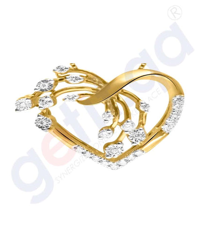 Buy Shine Gold and Diamond Pendants Model 5 in Doha Qatar