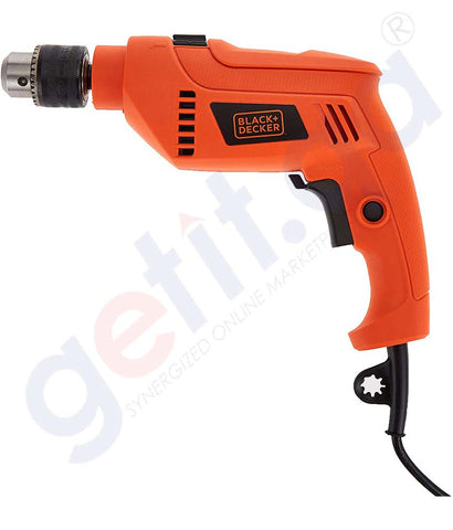 Buy Black & Decker Hammer Drill+50 Accessories Doha Qatar