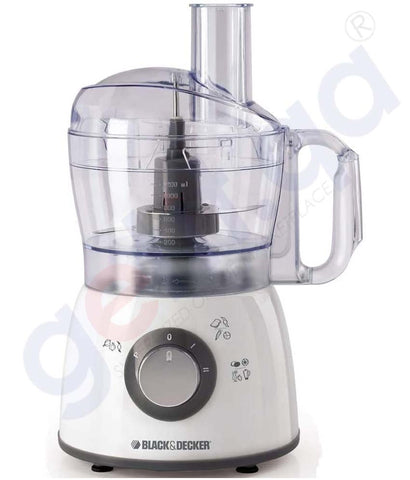Buy Black & Decker 400w Midi Food Processor 18fn Doha Qatar