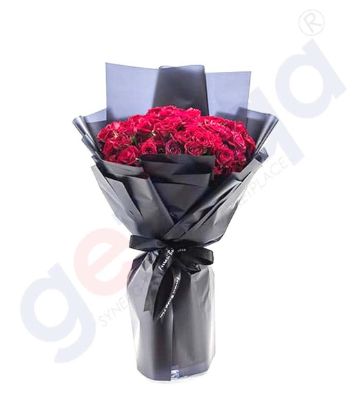 Buy J'Adore Red Hand Bouquet Price Online in Doha Qatar