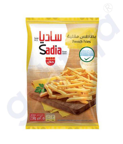 Buy Sadia French Fries Frozen 2.5kg Price Online Doha Qatar