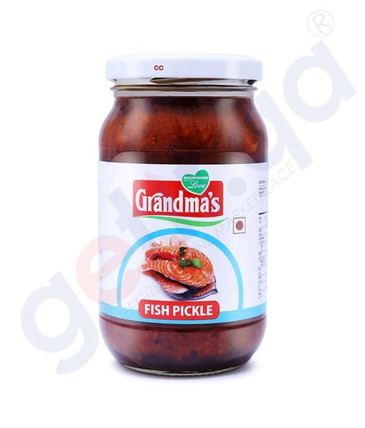 Buy Grandma's Fish Pickle 400g Price Online in Doha Qatar