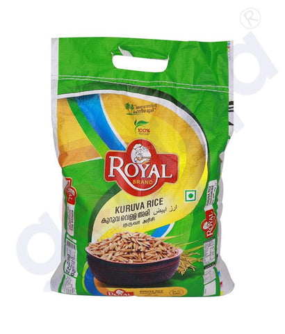 Buy Royal Kuruva Rice 5kg Price Online in Doha Qatar