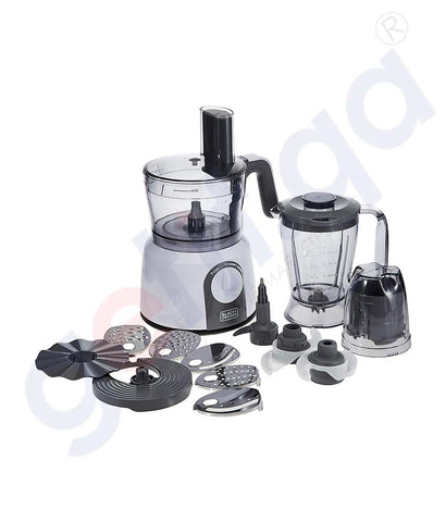 Buy Black&Decker Food Processor 5 in 1 Function Doha Qatar