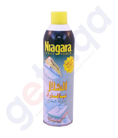 Buy Niagara Spray Starch 585ml Price Online in Doha Qatar