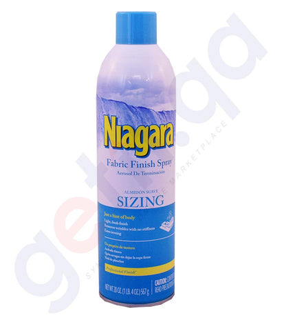 Buy Niagara Fabric Finish Spray Sizing Online in Doha Qatar
