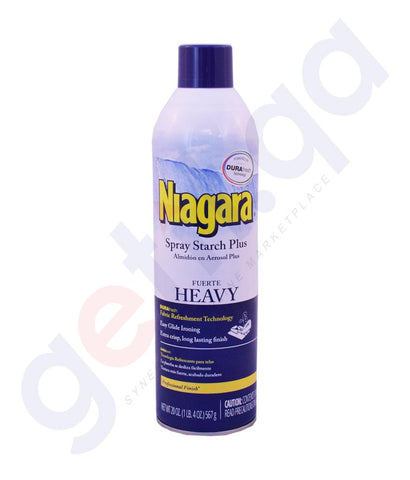 Buy Niagara Spray Starch Plus Heavy Online in Doha Qatar