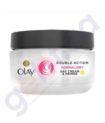 BUY OLAY DOUBLE ACTION NORMAL/DRY DAY CREAM - 50ML IN QATAR