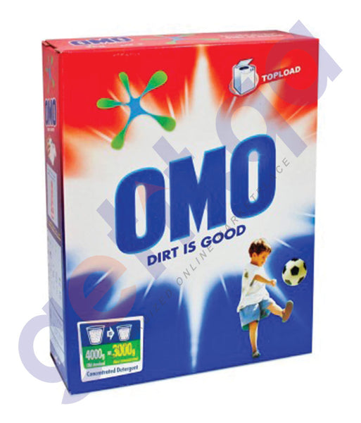 BUY OMO 1.5KG LEMON FRESHNESS TOP LOAD ONLINE IN DOHA QATAR