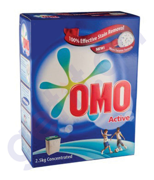 BUY OMO WASHING POWDER TOP LOAD 2.5KG ONLINE IN DOHA QATAR