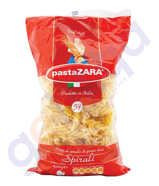 BUY BEST QUALITY PASTAZARA SPIRALI - 500GM ONLINE IN DOHA QATAR