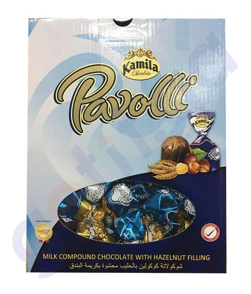BUY KAMILA PAVOLI MILK COMPOUND CHOCOLATE 2KG ONLINE IN QATAR