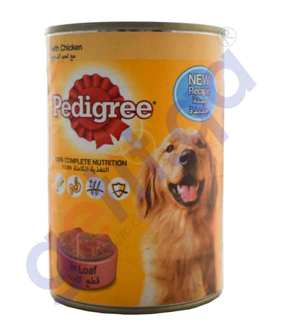 PEDIGREE NUTRITION IN LOAF WITH CHICKEN