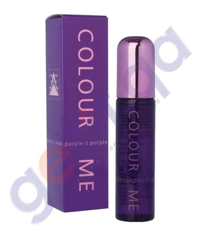 MILTON LLYOD COLOUR ME PURPLE EDT FOR WOMEN 100ML