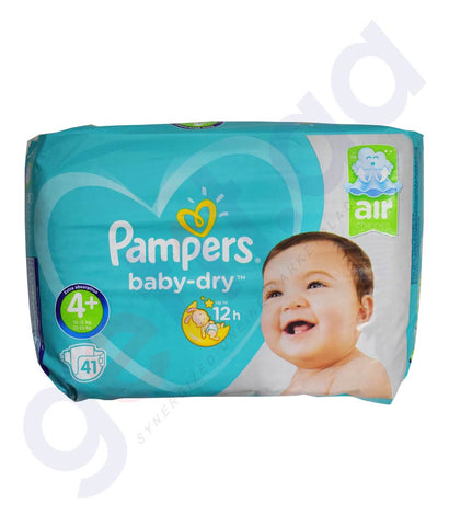 Buy Pampers ML Diaper M7 S4P 4x41 Online in Doha Qatar