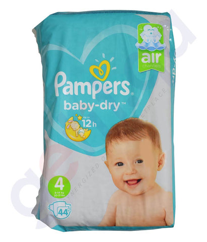 Buy Pampers ML Diaper M7 S4 4x44 Online in Doha Qatar