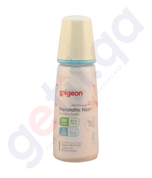 Buy Pigeon Peristaltic Nipple Nursing Bottle in Doha Qatar