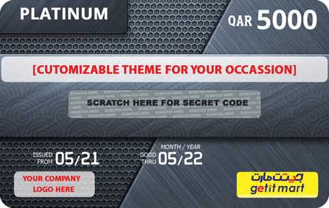 GETIT.QA's CORPORATE PLATINUM GIFT CARD