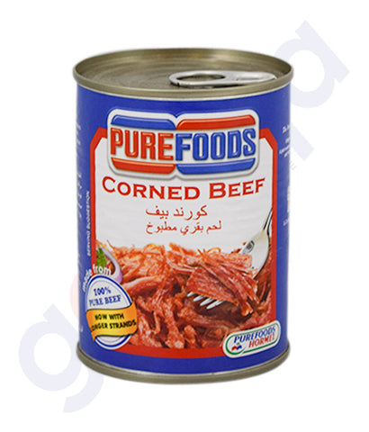 Buy Purefoods Corned Beef 150gm/ 380gm Online in Doha Qatar