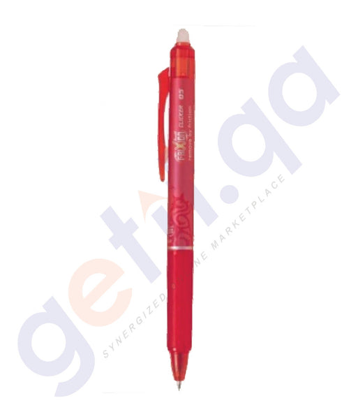 BUY BEST QUALITY PILOT BLRT - FR5 FRIXION CLICK RED ONLINE IN QATAR