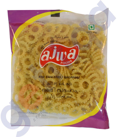 Buy Ajwa Rice Crackers(Vadaham Vathal) Online in Doha Qatar