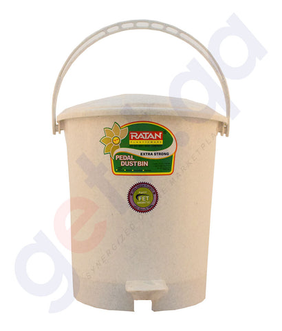 Buy Ratan Pedal Dust Bin Extra Strong Online in Doha Qatar