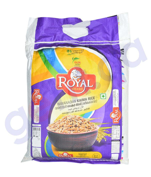 BUY BEST PRICED ROYAL WAYANADAN KAIMA 5KG ONLINE IN QATAR