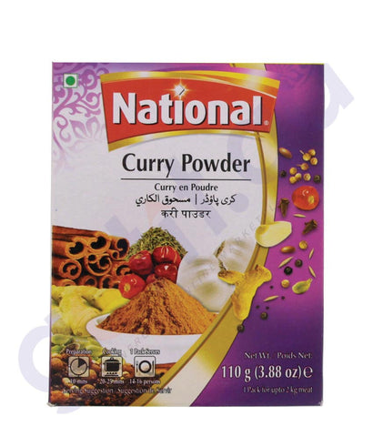 BUY BEST PRICED NATIONAL CURRY POWDER 110GM ONLINE IN QATAR