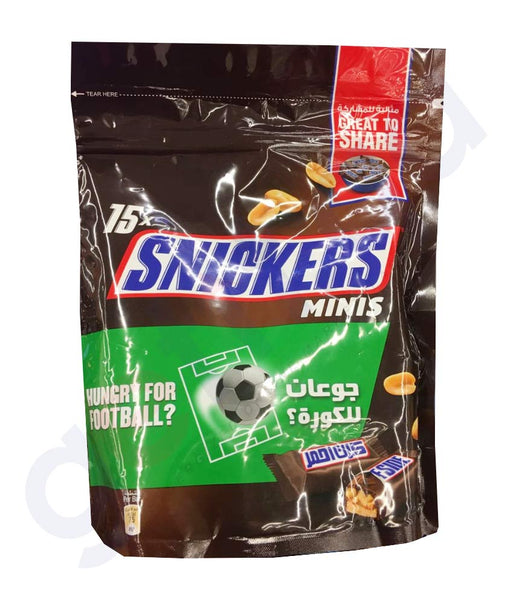 BUY SNICKERS MINIS 225GM ONLINE IN QATAR