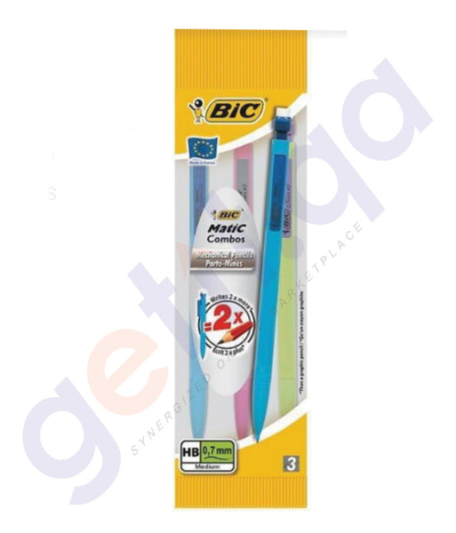 BUY BEST PRICED BIC MATIC HEX 0.7 BLSTR 3'S ONLINE IN DOHA QATAR