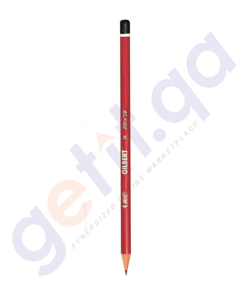 BUY BEST PRICED BIC GILBERT PENCILS 1X12-SOBC455-0 IN DOHA QATAR