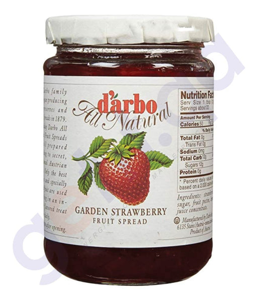 Buy Darbo Strawberry Fruit Spread 640g Online in Doha Qatar