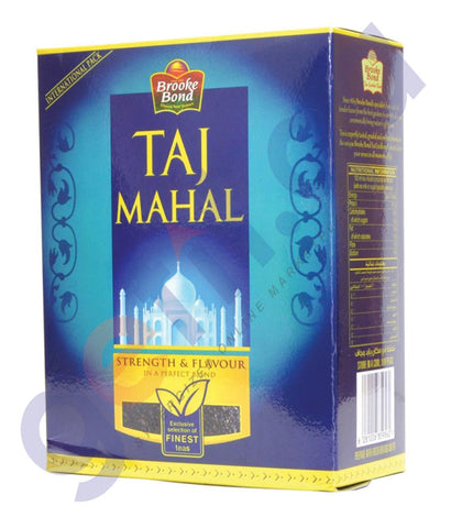BUY BEST PRICED BROOKE BOND TAJ MAHAL TEA POWDER 400GM ONLINE IN QATAR