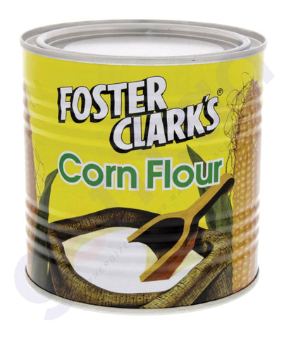 BUY BEST PRICED FOSTER CLARK CORN FLOUR TIN-400GM IN DOHA QATAR