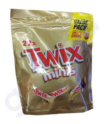 BUY BEST QUALITY TWIX MINIS 22X 440GM ONLINE IN QATAR