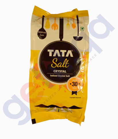 Buy Tata Salt- Iodised Crystal Salt 1Kg Online in Qatar