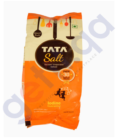 Buy Tata Salt-Vacuum Evaporated Iodised 1Kg Online in Qatar